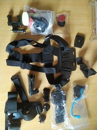 Accesorios para camara deportiva tipo GoPro