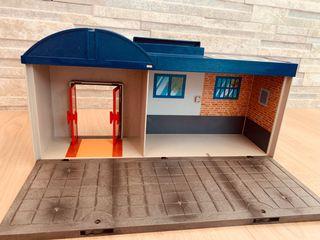 Maletín comisaría de policía de playmobil