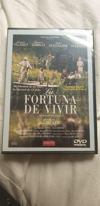 pelicula DVD La fortuna de vivir
