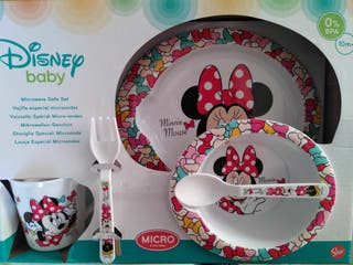 Vajilla Disney Minnie mouse