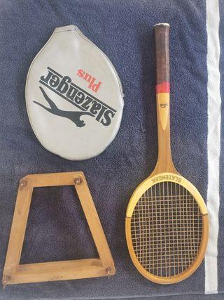 VINTAGE - Duo de raquetas de tenis Vintage.
