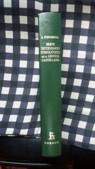 BREVE DICCIONARIO ETIMOLÓGICO DE LA LENGUA CASTELL