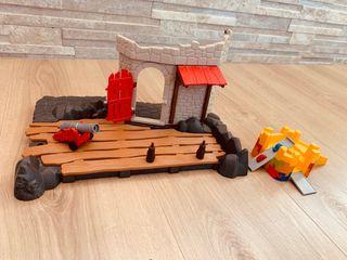 Isla pirata + complementos playmobil