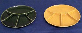 Platos fondue de cerámica