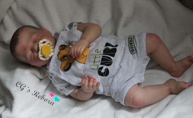Bebé reborn kit Harper