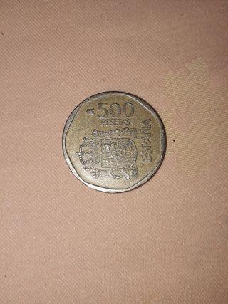Moneda de 500 pesetas