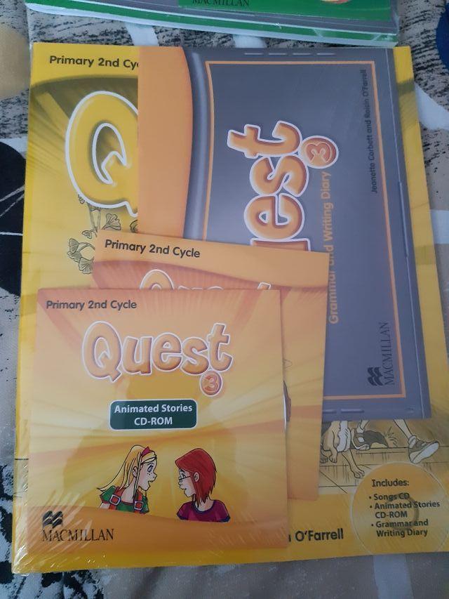 Libros inglés Quest 3° y 4° primaria Macmillan