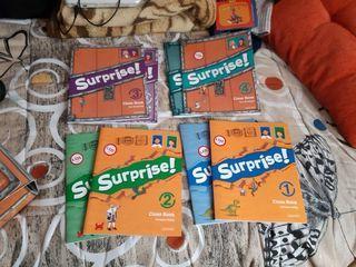 Libros Surprise! 1°, 2°, 3° y 4° Oxford