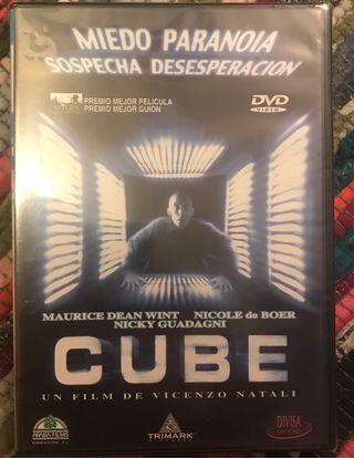 Dvd pelicula Cube con precinto