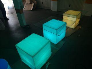 Mesa led iluminada