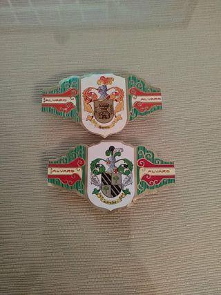 2 Vitolas Colección Heraldica Serie IV