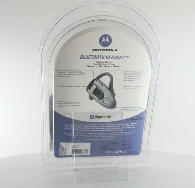 Auriculares manos libres bluetooth Motorola H500