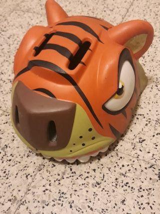 Casco Tigre infantil