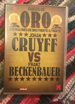 Dvd duelos de oro. Cruyff vs Beckenbauer