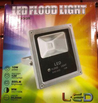 Lote 15 focos Exterior Led colores RGB con mando