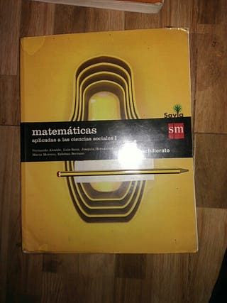 libro de texto 1 bachillerato matemáticas