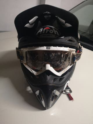 talla 56-S color Negro mate Airoh/Moto Casco J106