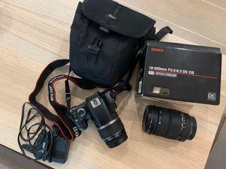 Canon EOS 450D + objetivo Sigma