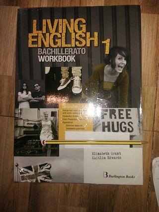 libro de texto 1 bachillerato living english wb