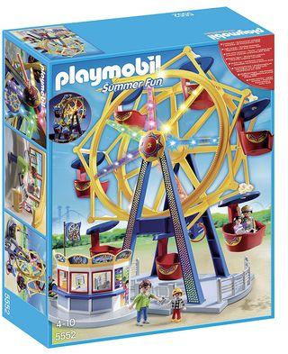 Playmobil Parque de Atracciones noria luces 5552