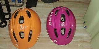cascos de bicicleta infantiles