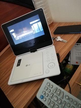 vendo DVD portable LG