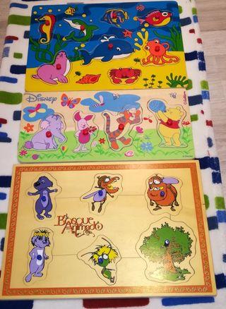 Puzles de Madera Disney,El Bosque encantado,Peces