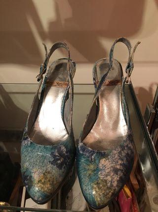 Zapatos mujer destalonado