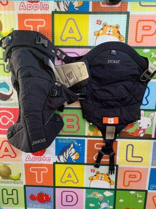 Porta bebé stokke