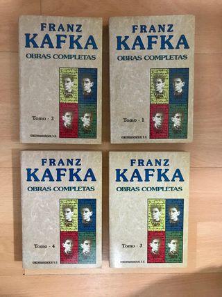 Obras Completas - Franz Kafka (4 tomos)