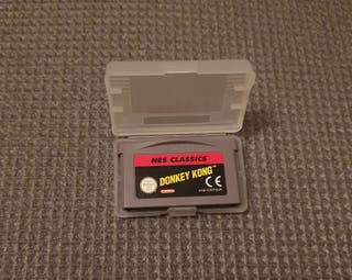 Donkey Kong NES classics game boy advance
