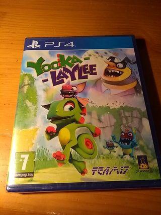 Yooka-Laylee PS4 Precintado