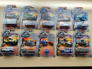 Pack Matchbox Jurassic World