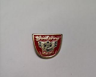 Pin Honda GoldWing rojo