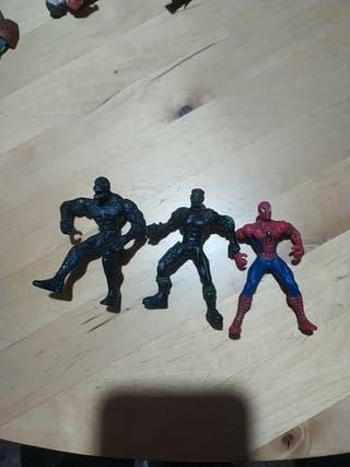 Figuras Spiderman 3 Hasbro 2007 Marvel