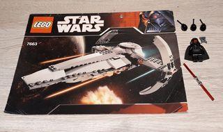 Lego 7663 Sith Infiltrator 2007 Star Wars
