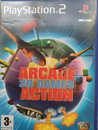 PS2 ARCADE 30 GAMES ACTIONS