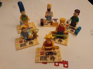 Figuras tipo LEGO Los Simpson