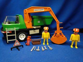 Playmobil Camión con pulpo REF 7655