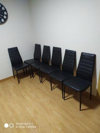 6 sillas salon comedor cocina