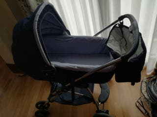 Cochecito bebe + silla + balancin