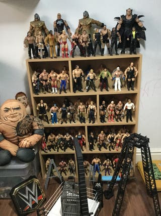 Mega Collection of Wrestling Action Figures x 85