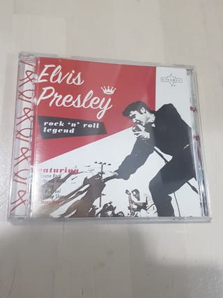 CD ELVIS PRESLEY ROCK'N ROLL LEGEND