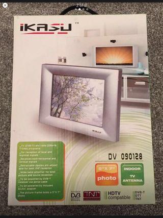 Ikasu Indoor Digital TV Antenna & photo frame
