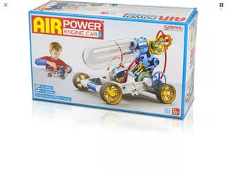 Air Power Engine Car Build it Yourself Kit