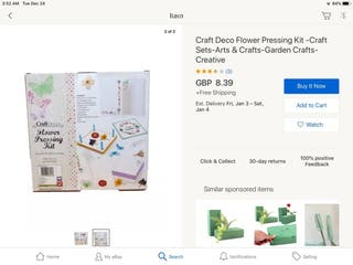 Craft Deco Flower Pressing Kit.