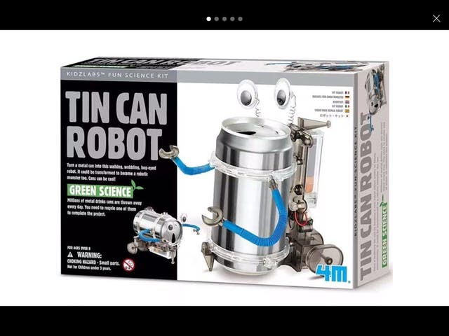 4M Tin Drink Can Robot Build ur Own Science Kit