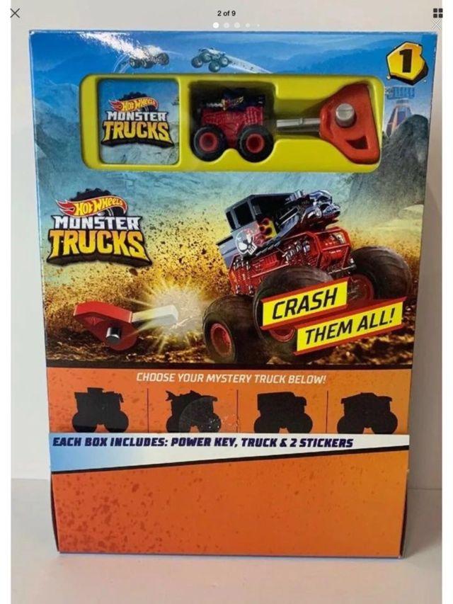 HOTWHEELS Monster Trucks Mystery Trucks