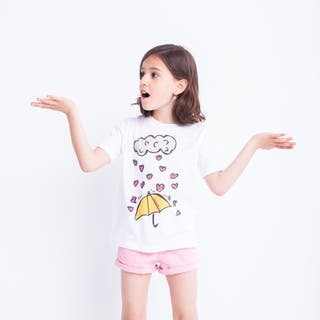 Camisetas unisex niños algodón orgánico