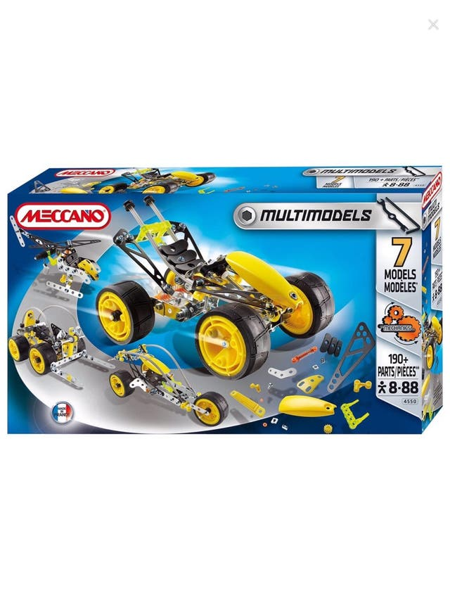 Meccano Multimodels 7 Model Set""